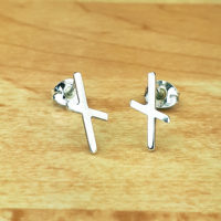 Sterling silver rune earrings