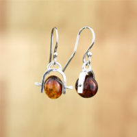 amber earrings web